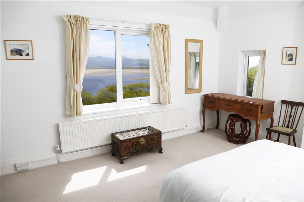 Views are seen from both double bedrooms