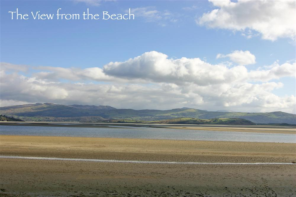 Nearby beach Borth y Gest