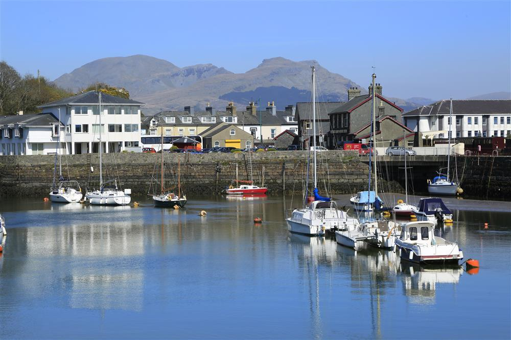 Nearby Porthmadog harbour