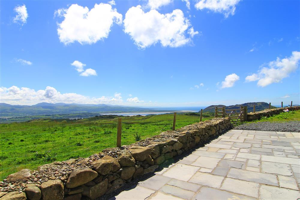 The stunning views that can be seen from the house
