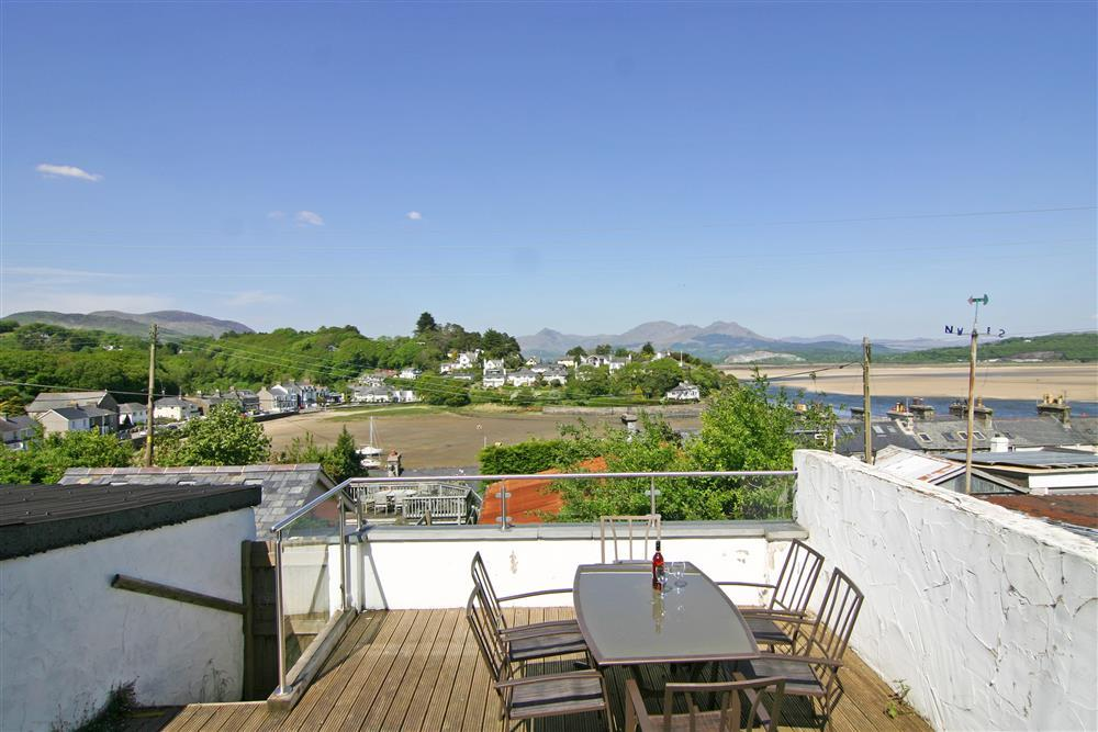 Stunning views from the decking area