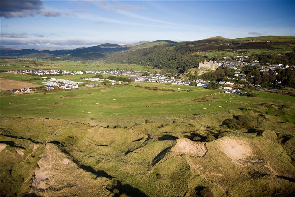 Harlech golf course, Royal St. David's