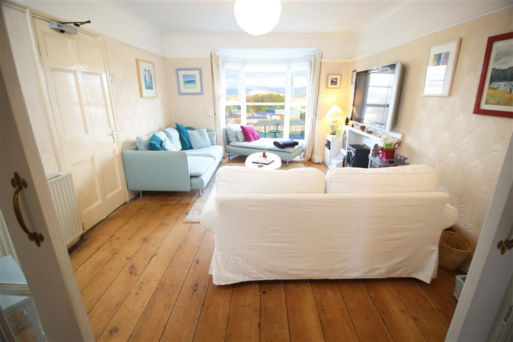Spacious lounge with views