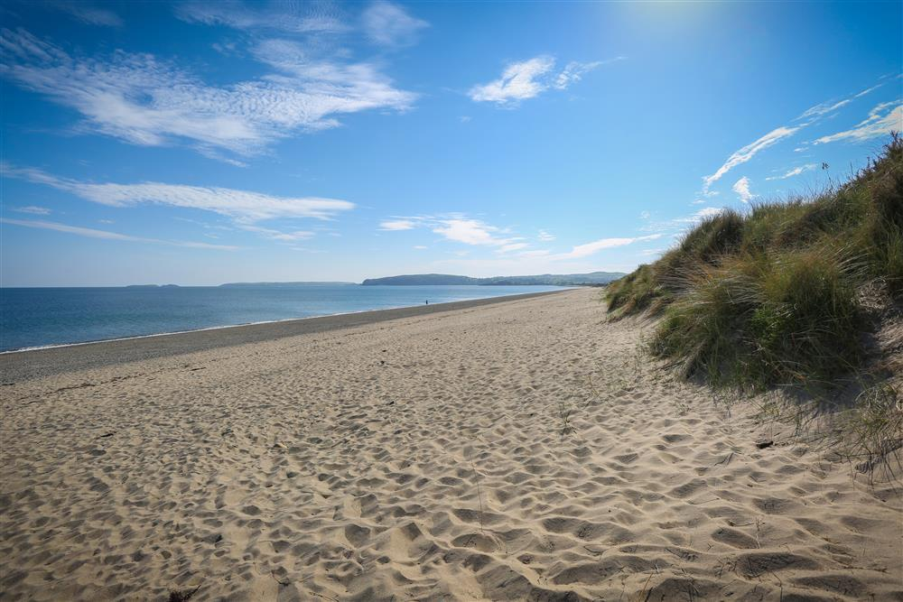 Pwllheli beach - a stone's throw from The Gorse