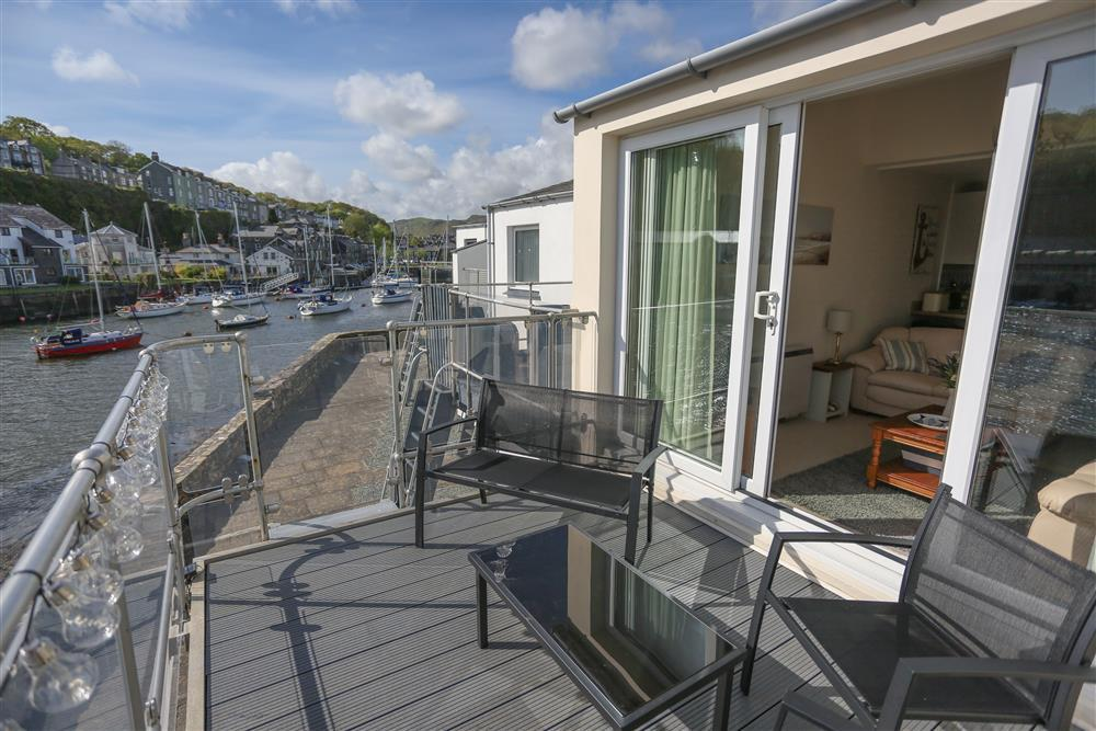 Enjoy the views over the harbour from your private balcony
