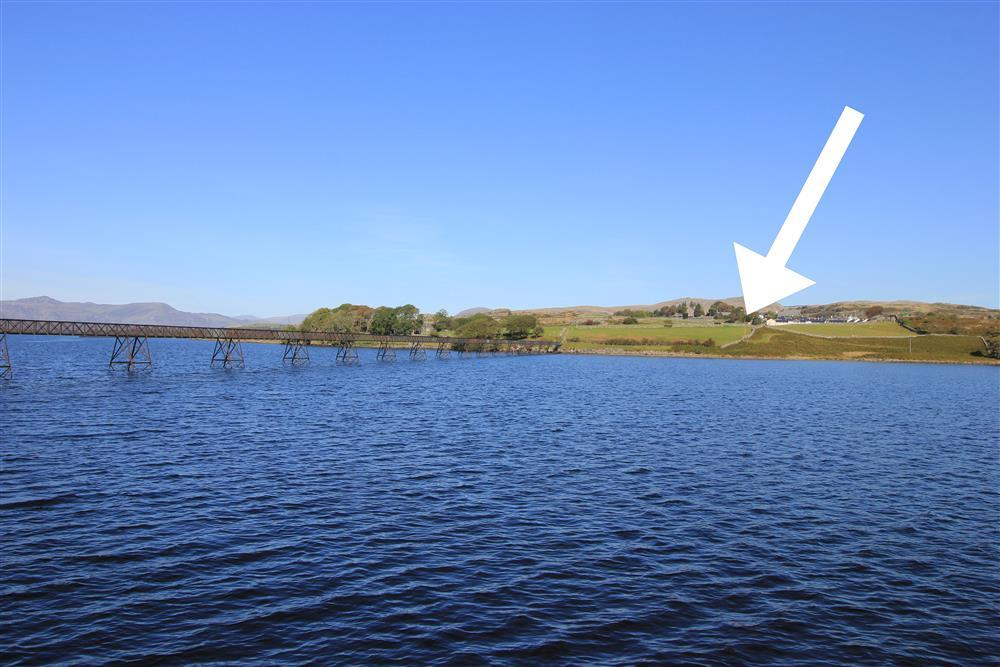 Lake Cottage is close to Trawsfynydd Lake. The lake is only 9 minutes walk away (0.4 mile) from the cottage