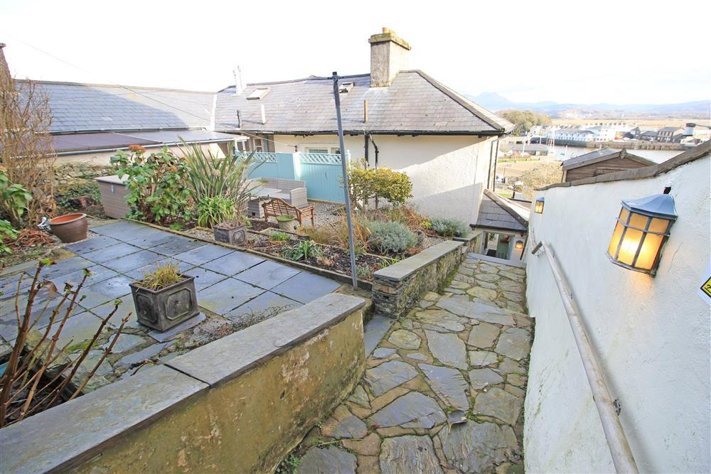 Back Garden and the top of the external staircase