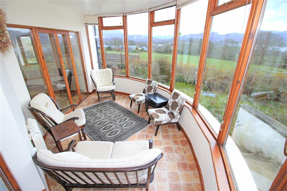 Conservatory (ground floor - same level as kitchen, dining room & utility room)