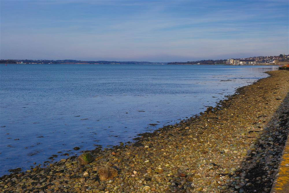 The Menai Strait is a narrow stretch of tidal water which separates the island of Anglesey from the mainland of Wales. This photo is looking towards Caernarfon.