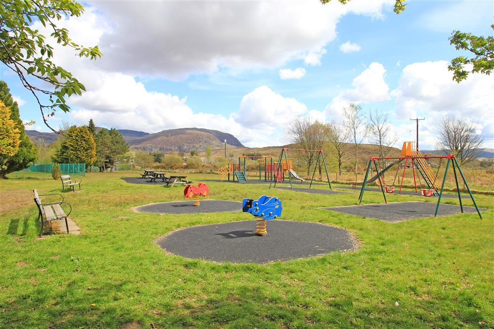 Cae Tanygrisiau playground. This playground is 56 yards from Exlporer's Cottage.