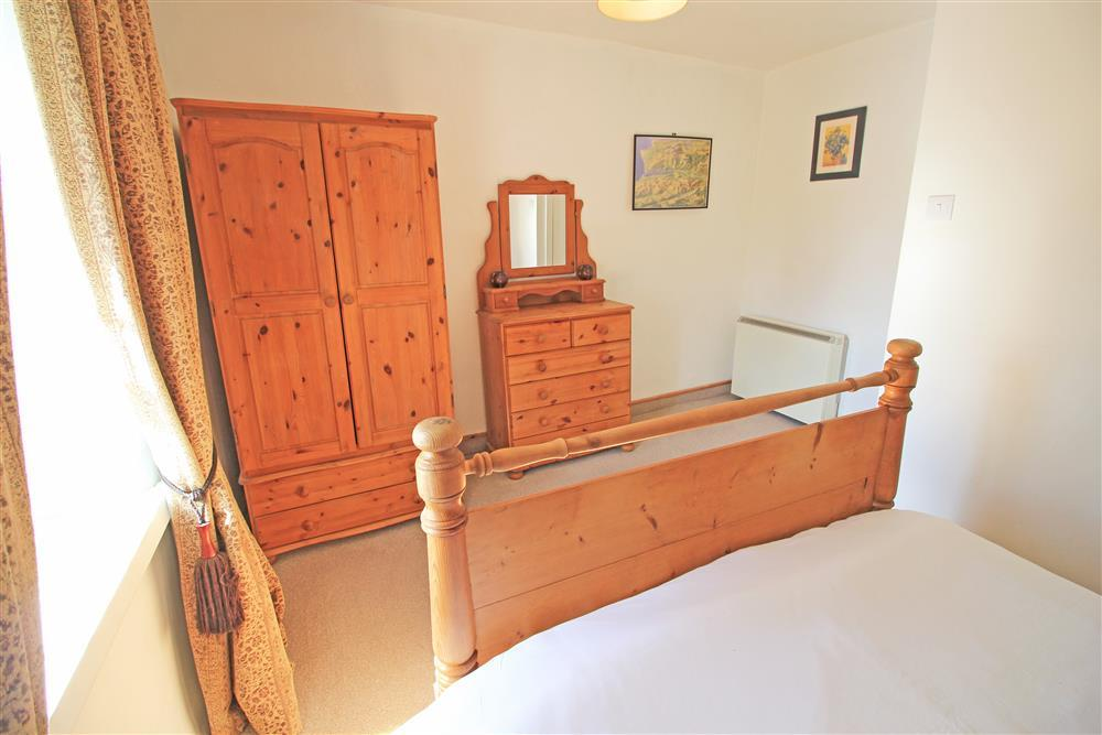 Bedroom 1: Master bedroom with a double bed