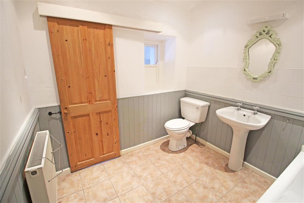 Bathroom, there are 2 small steps up to this bathroom (Ground Floor)