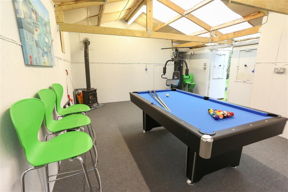 Games Room which is in the garden