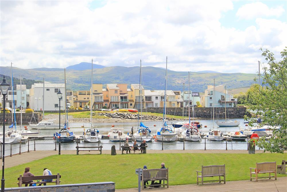 Porthmadog Harbour, this view can be seen from Bedrooms 1, 2 & 4.