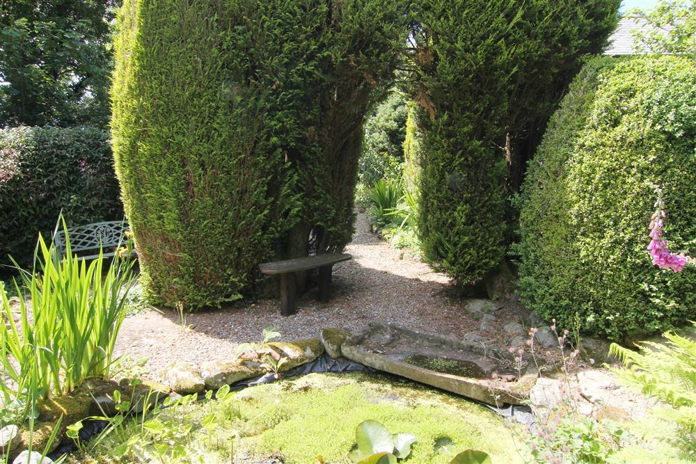 Relax and explore in the beautiful garden.