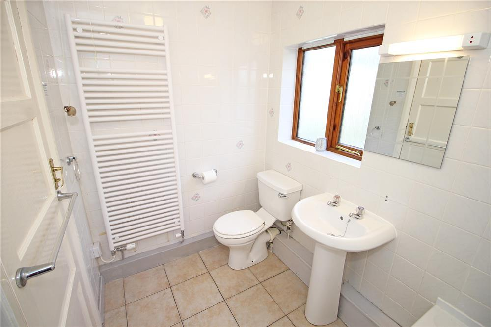 Bathroom. Gound Floor - same level as bedrooms 2, 3, 4 and shower room.