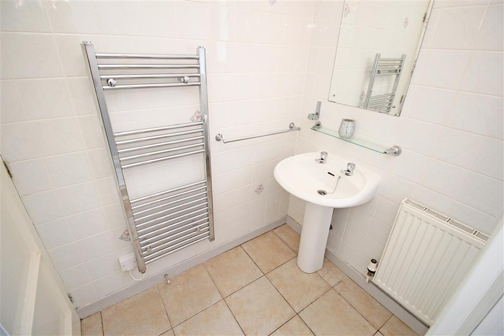 Shower room. Ground Floor - same level as bedrooms 2, 3, 4 and bathroom.