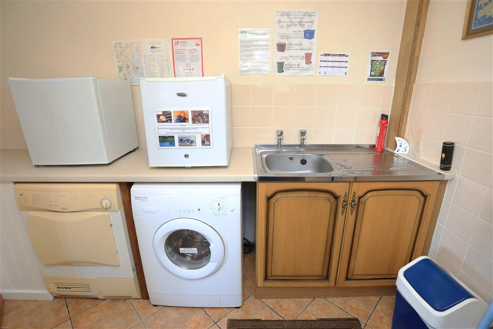 Utility room (ground floor - same level as conservatory, dining room & kitchen)