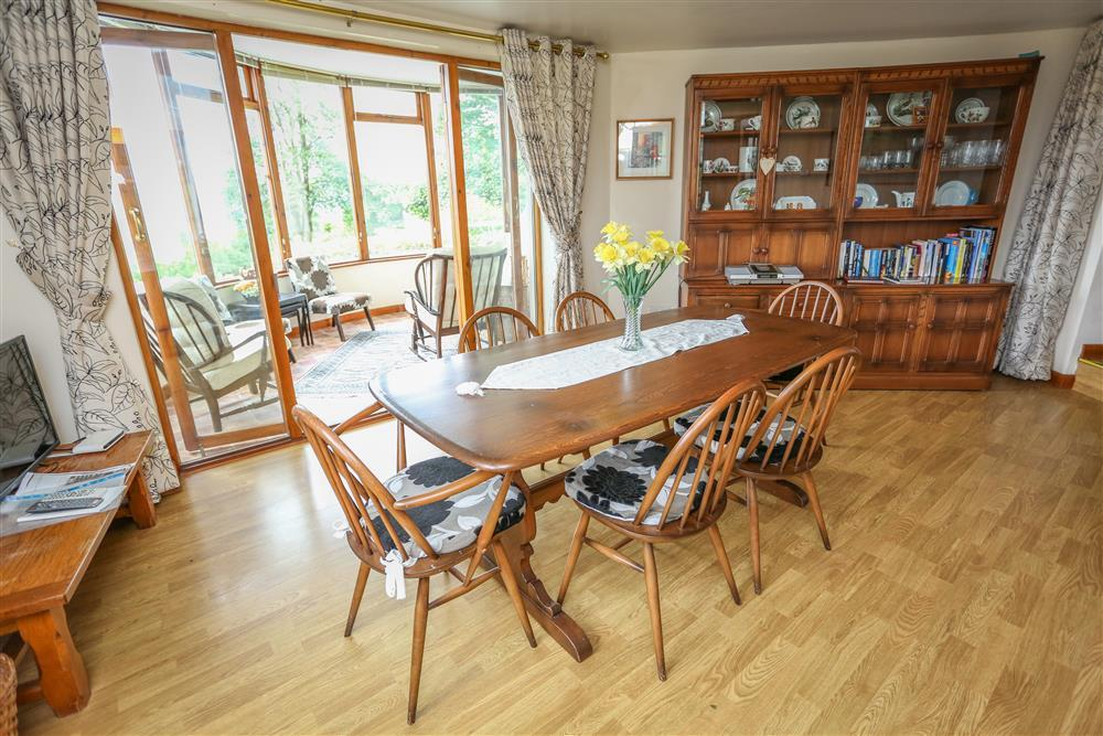 Dining Room - looking at the conservatory (ground floor - same level as conservatory and kitchen & utility room)