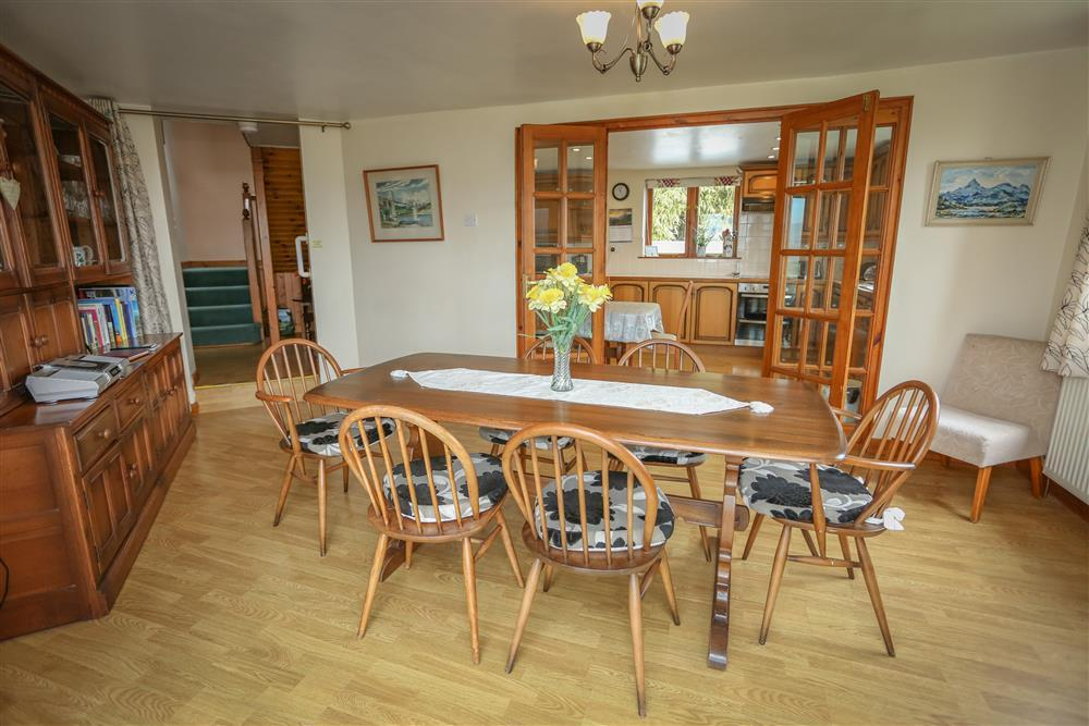 Dining Room - looking at the Kitchen (ground floor - same level as conservatory and kitchen & utility room)