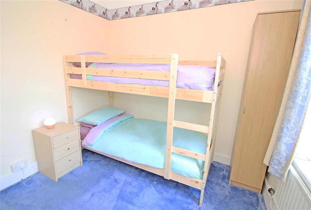 Bedroom 4 - bedroom with bunk beds that are 3' wide but only suitable for children up to 16 yrs. This bedroom is on the 1st floor.