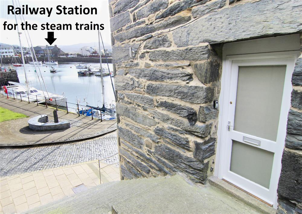 Front door for Harbour Station View