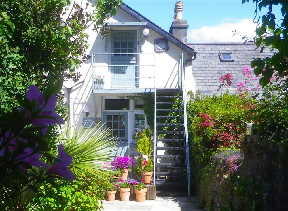 Entrance to the Bridge