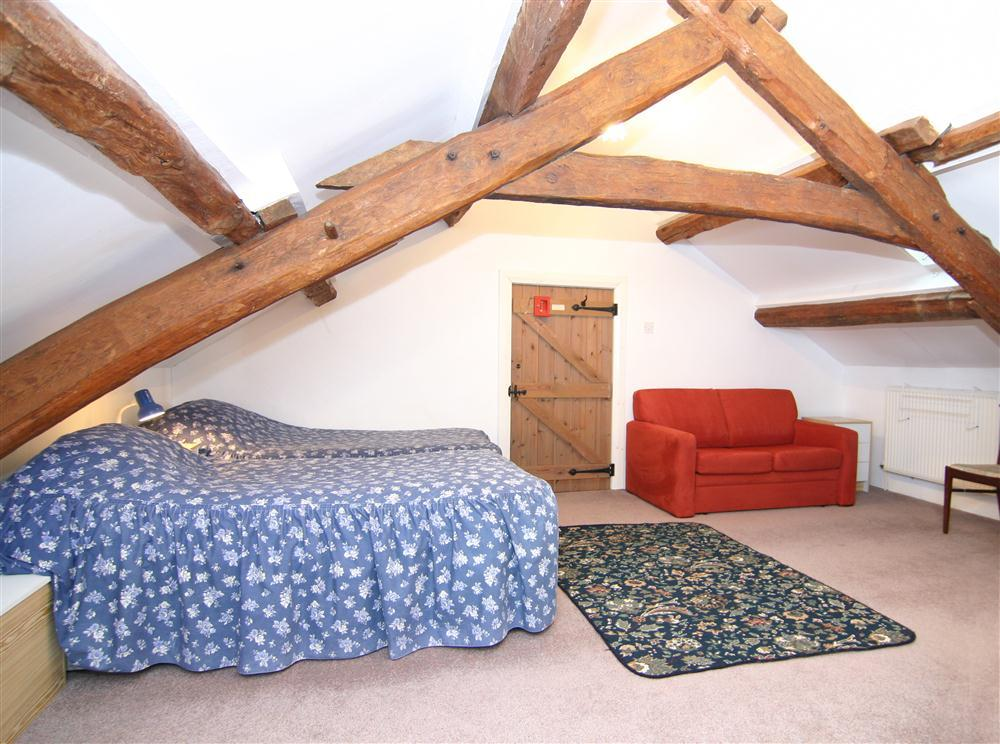 Twin bedroom in the eaves