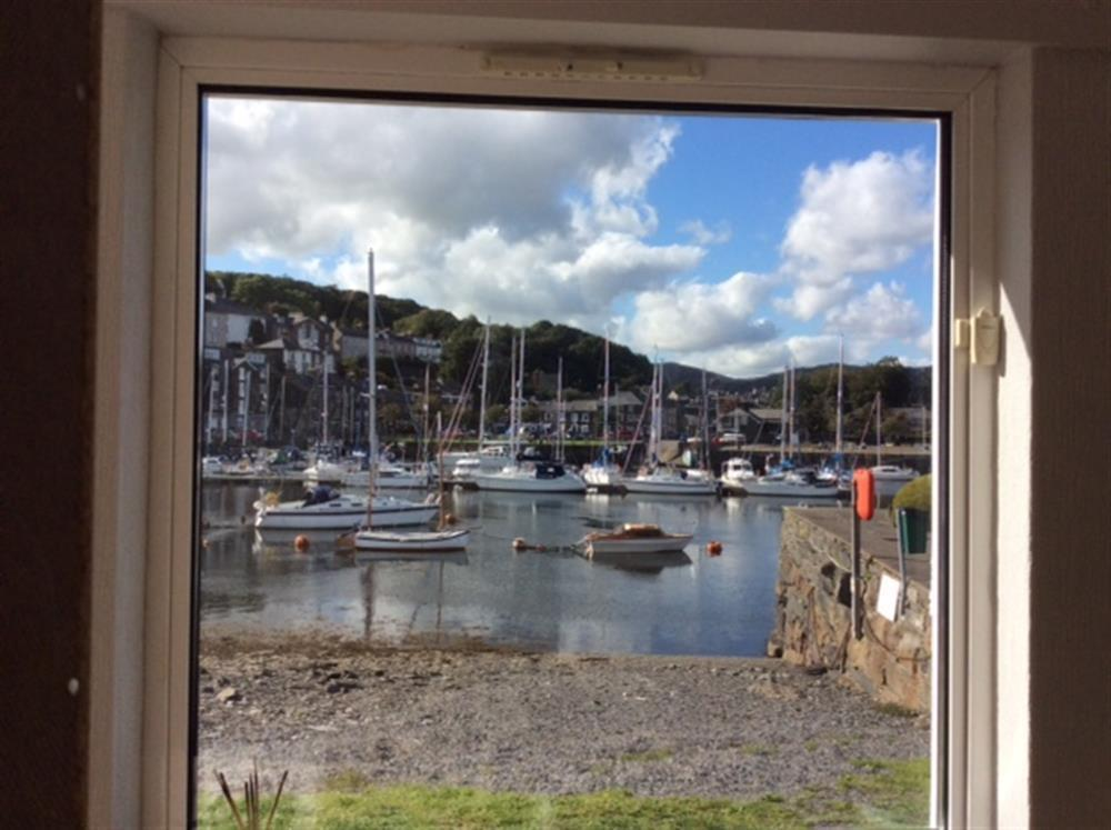 Kitchen view of the harbour