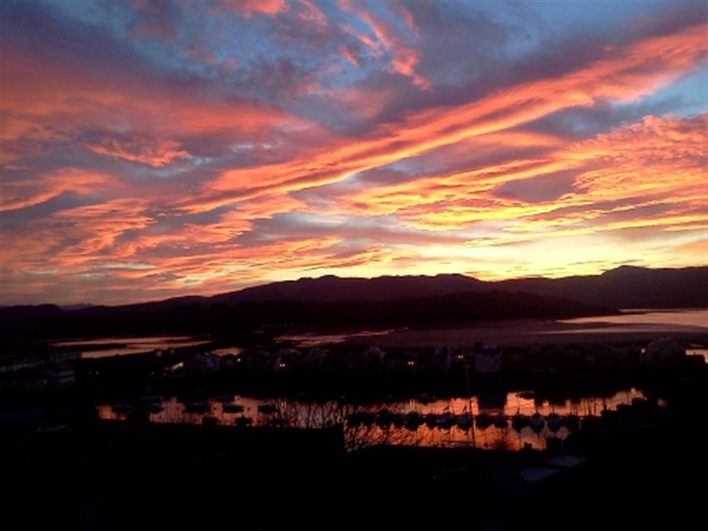The Bridge features stunning views of Snowdonia's famous sunrises
