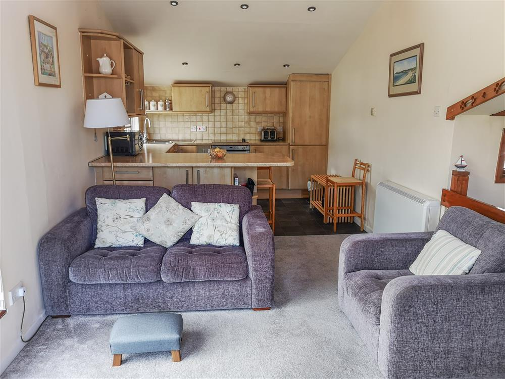 Large and spacious open plan living area and kitchen