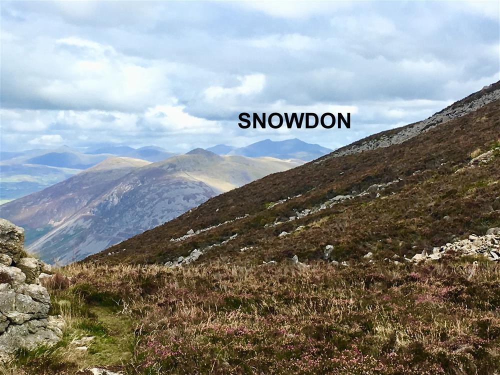 From these mountins you can see Snowdonia and Snowdon itself