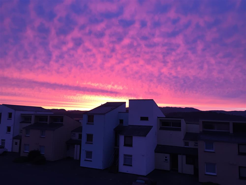 Enjoy some beautiful sunrises from your own bedroom