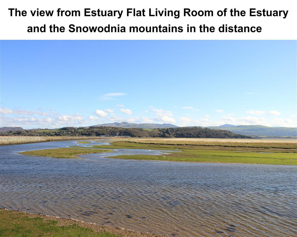 The views from the Living Rom of the estuary.