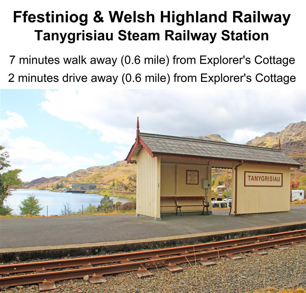 Due to the pandemic only a few train stations are open, please check Ffestiniog & Welsh Highland Railway website to see which ones are open.