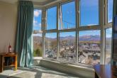 Enjoy stunning views over Porthmadog harbour and toward the mountains of Snowdonia from the lounge