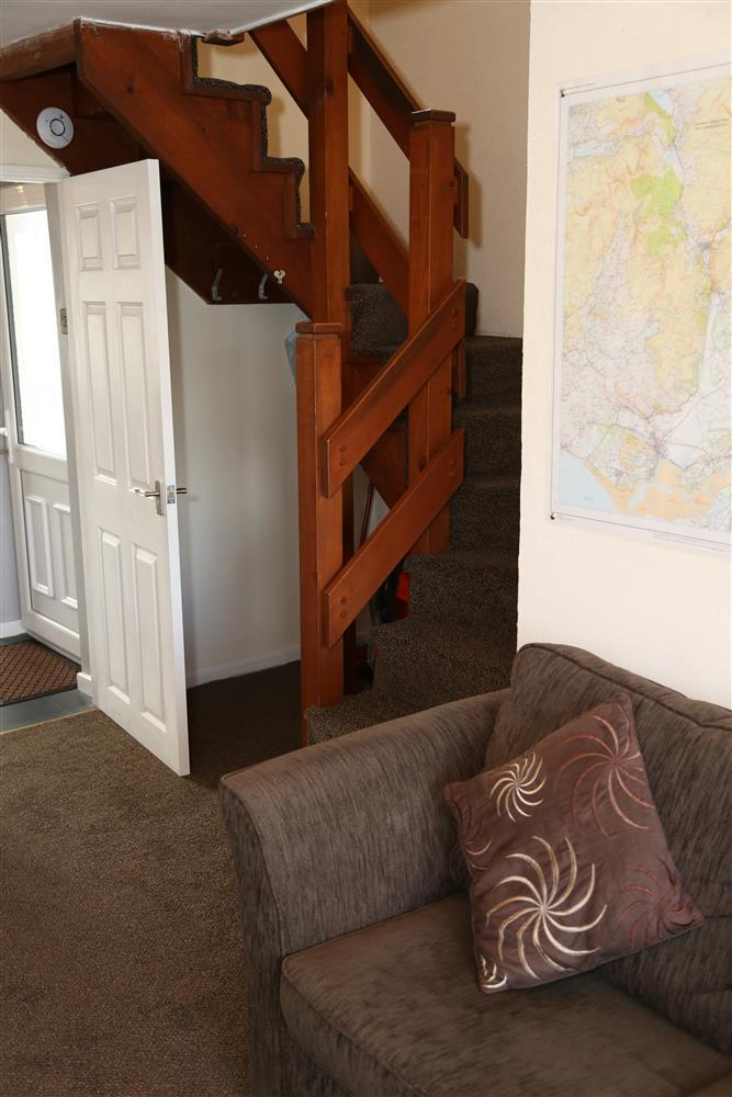 Stairs within the property