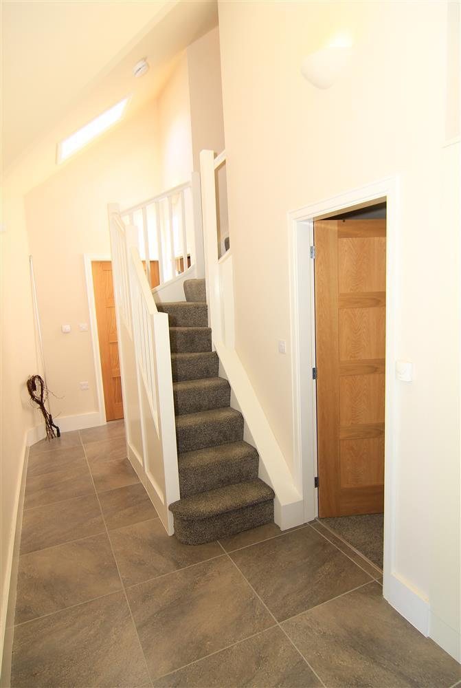 Hallway area and stair to top floor