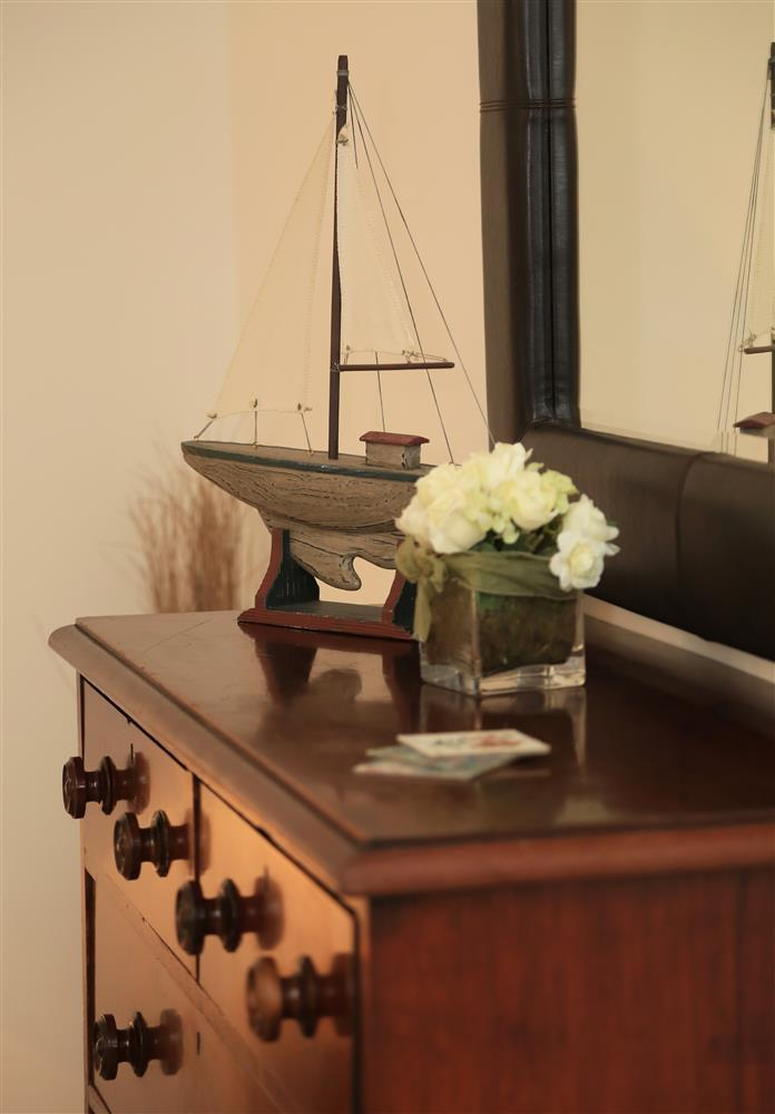 Nautical theme in the Master bedroom