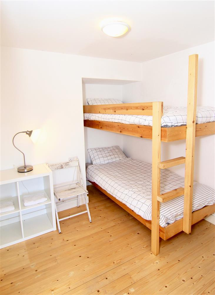 Bunk beds in the 3rd bedroom which is downstairs
