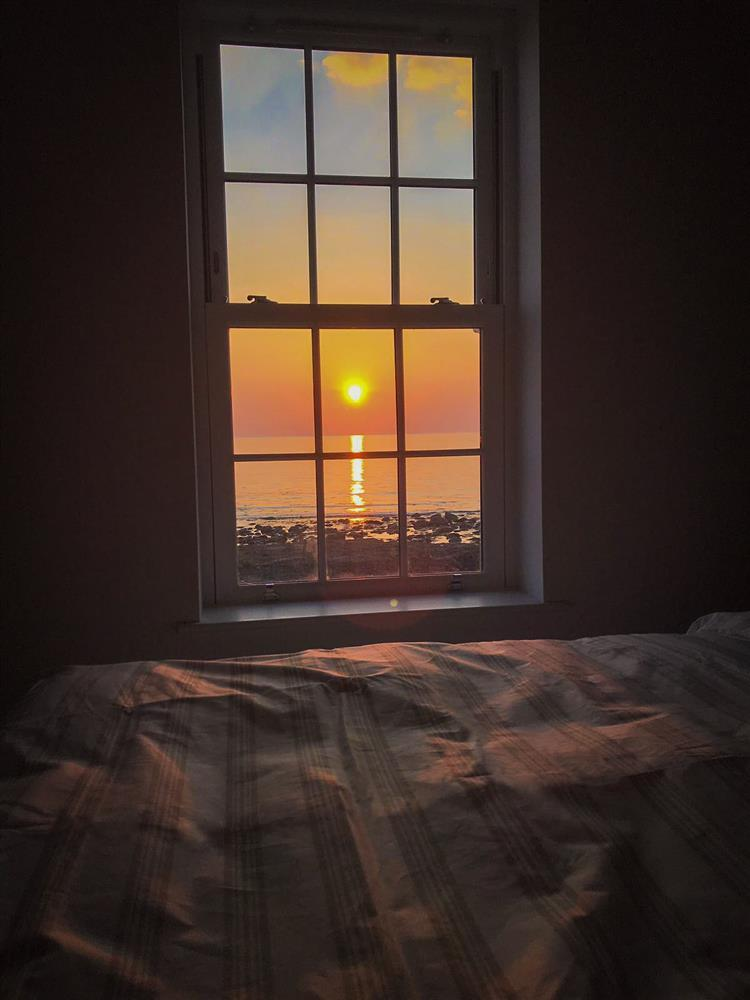 Enjoy the sunsets from the double bedroom