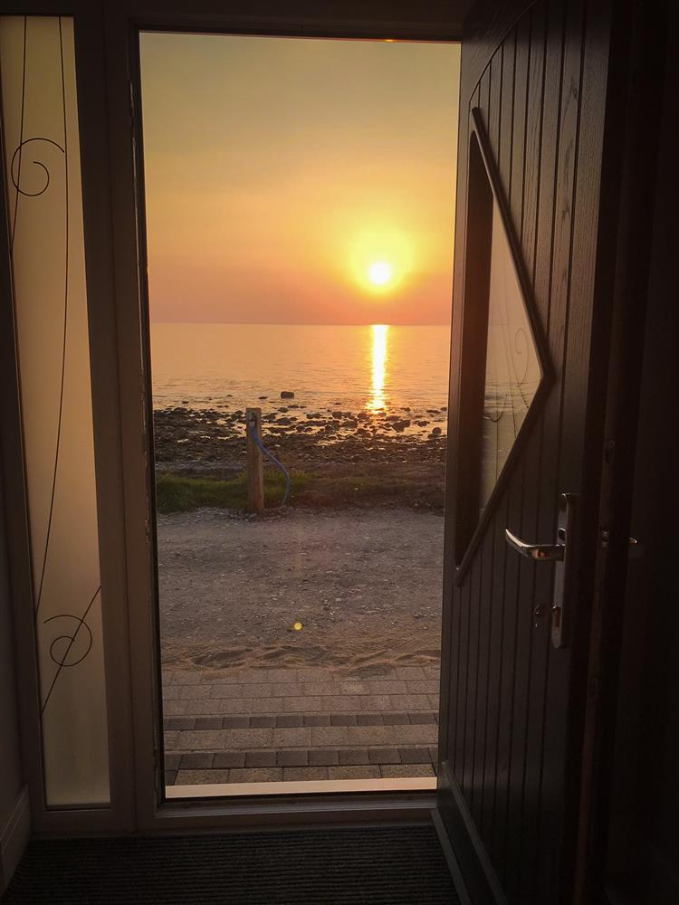 Enjoy the sunsets from your front door